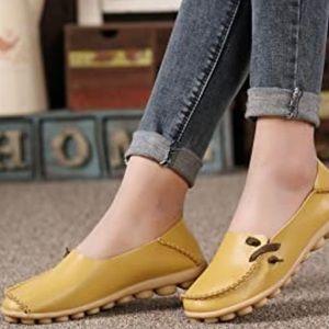 VenusCelia Comfort Moccasin Walking Loafer Womens9